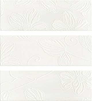 Decor Anya Flower White (3 вида рисунка)