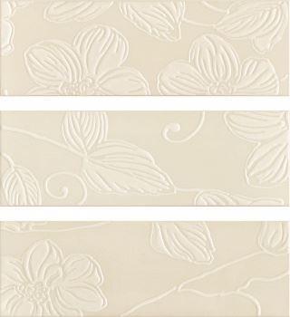 Decor Anya Flower Cream (3 вида рисунка)