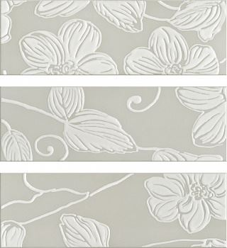 Decor Anya Flower Grey (3 вида рисунка)