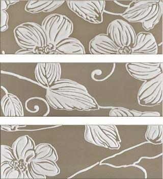 Decor Anya Flower Brown (3 вида рисунка)