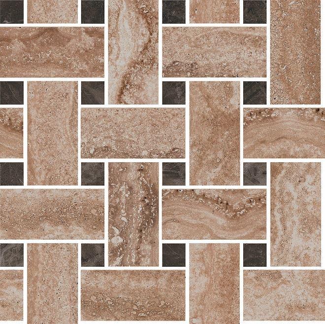 Декор Амбуаз беж мозаичный