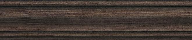 Плинтус Гранд Вуд коричневый тёмный