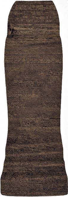 Угол внешний Гранд Вуд коричневый тёмный